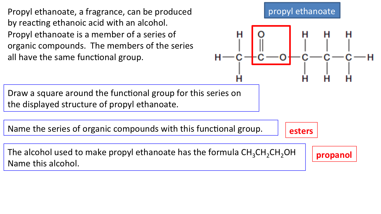 C3.6 Organic chemistry | Secondary Science 4 All