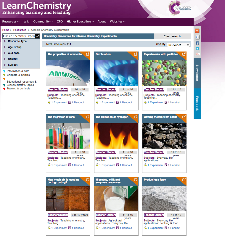 http://www.rsc.org/learn-chemistry/resource/listing?searchtext=Classic+Chemistry+Experiments