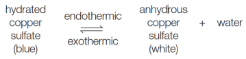 endothermic exothermic equilibrium reversible reaction