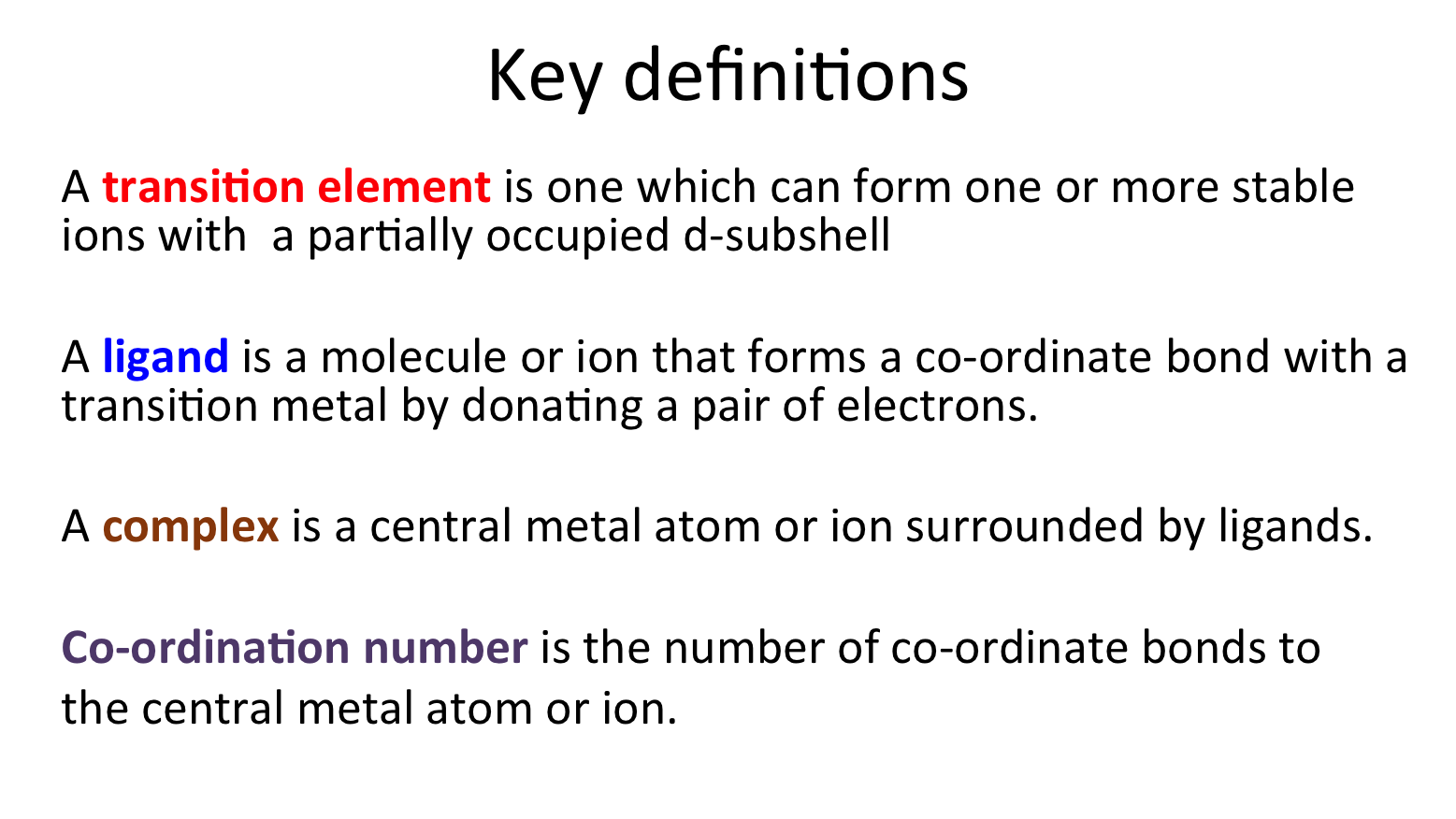 2.5 transition metals | secondary science 4 all