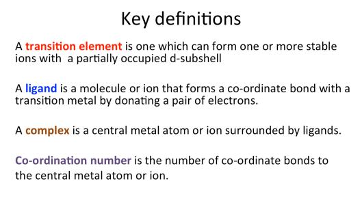 2 5 Transition Metals