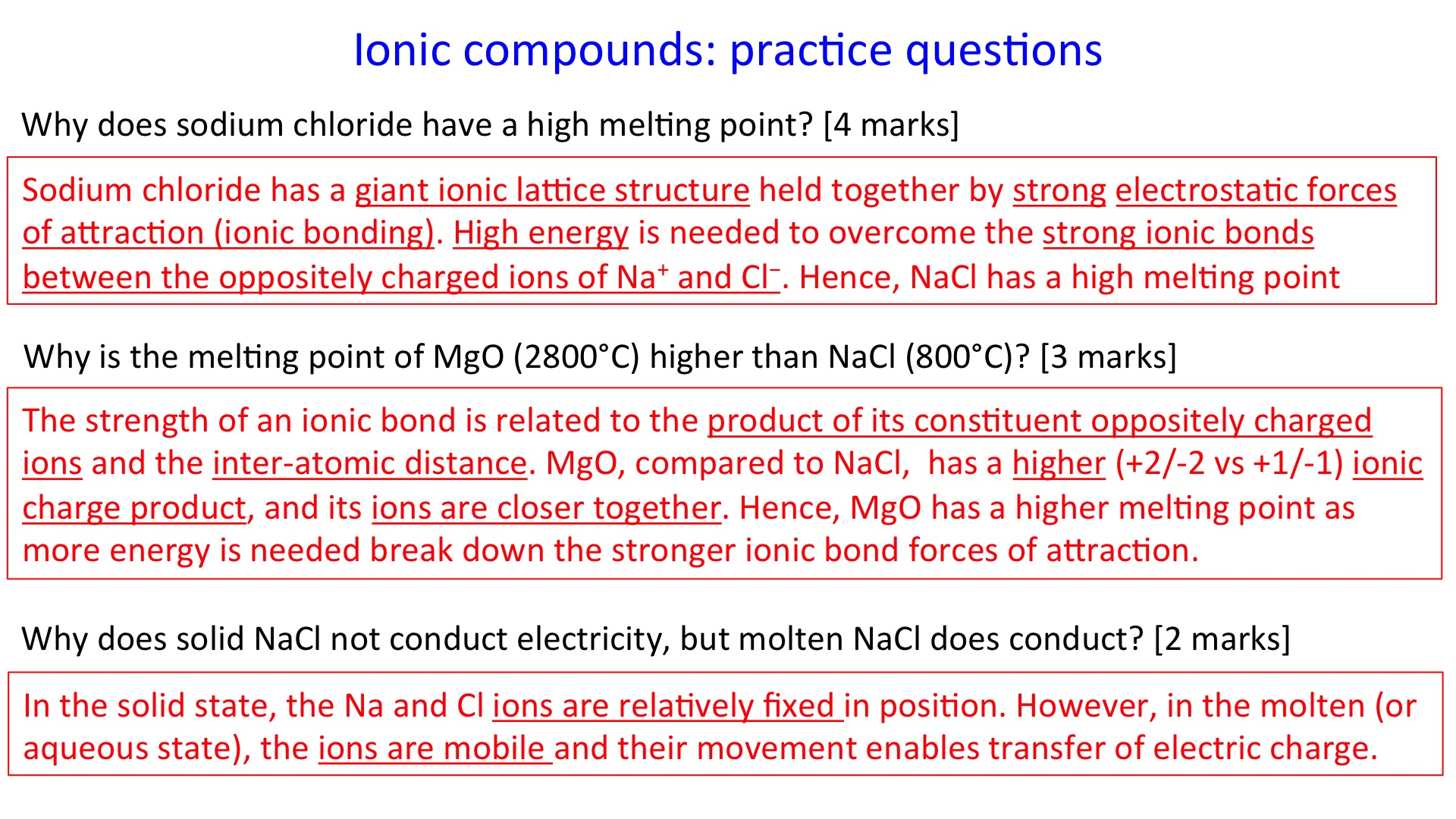 Ionic compounds secondary science 4 all share this gamestrikefo Choice Image