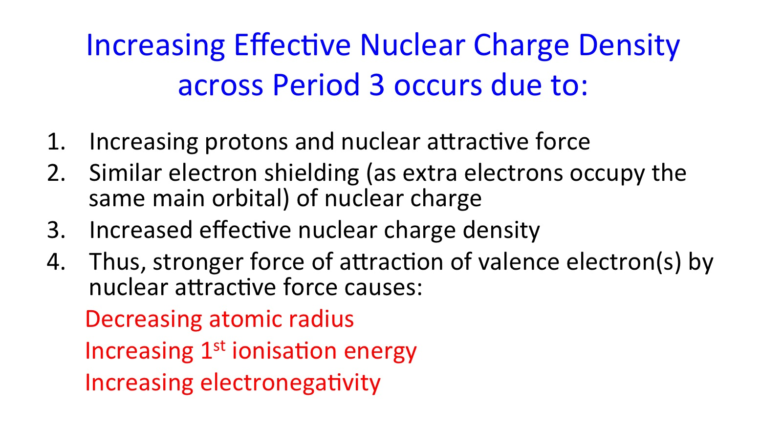 Physical properties of period 3 elements secondary science 4 all higher ncd across period 3 slide55 urtaz Gallery